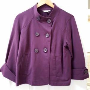 CAbi | Peacoat Cuffed Jacket